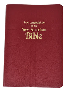 Red New American Bible Gift Edition Medium Size