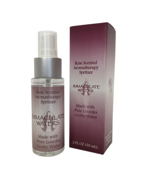 Immaculate Waters Rose Scented Aromatherapy Spritzer