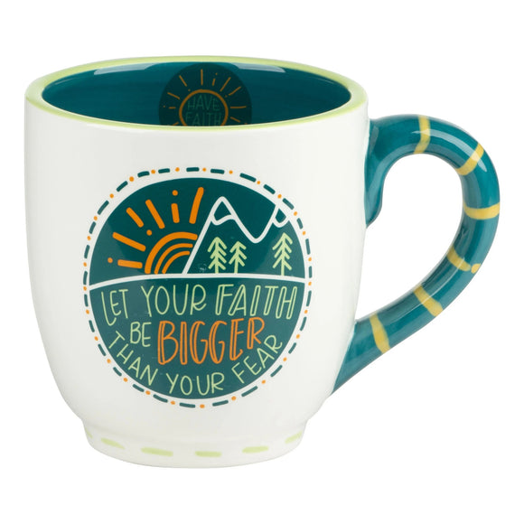 Let Your Faith Be Bigger Mug
