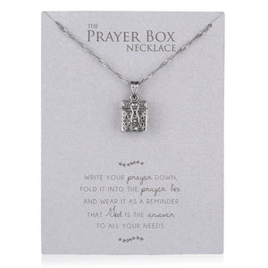 Prayer Box Necklace
