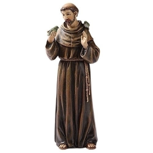 "6"" St Francis Statue"