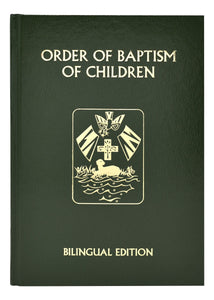 Rite Of Baptism For Children Bilingual Edition