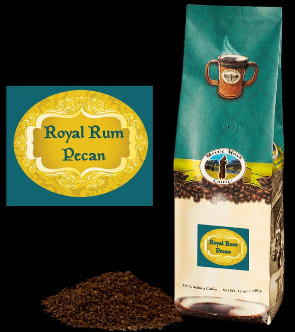 Royal Rum Pecan Ground Coffee