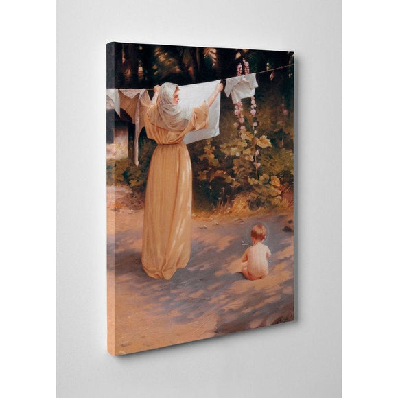10x16 Polish Madonna Gallery Wrapped Canvas