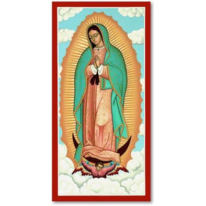 OLO Guadalupe Icon Plaque 7x14