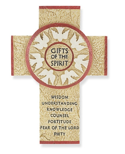 Gifts Of The Spirit Confirmation Cross