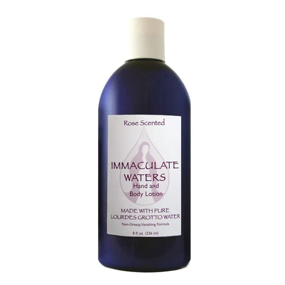 Immaculate Waters Rose Scented Hand & Body Lotion