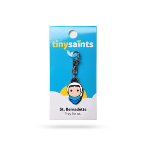 St Bernadette Clip-On Figure