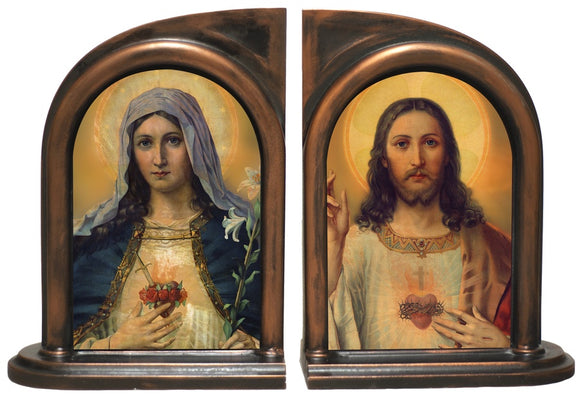 Immaculate Heart of Mary/Sacred Heart of Jesus Bookends