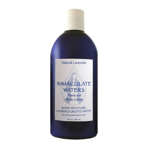 Immaculate Waters Natural Lavender Hand & Body Lotion