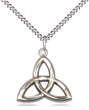 SS Trinity Irish Knot Necklace