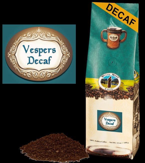 Vespers Decaf Ground Coffee