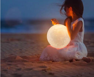 Luminous Moon Lamp (5 sizes!)