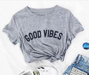 Good Vibes Casual Women's Tee