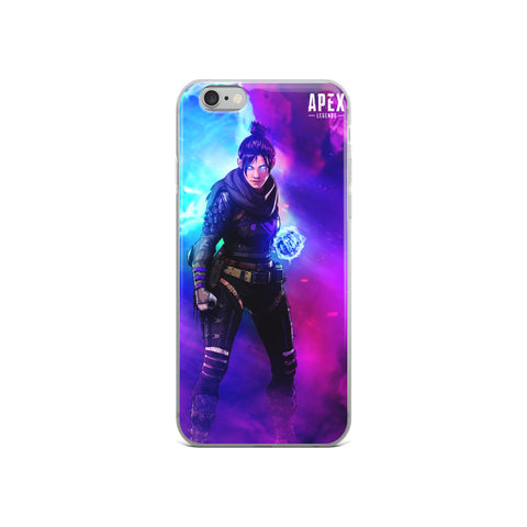 Apex Legends Wraith Violet iPhone Case