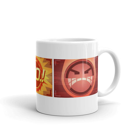 Apex Legends Angry Pathfinder Screen Mug