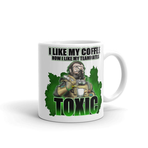 Caustic Likes Toxic Coffee Mug