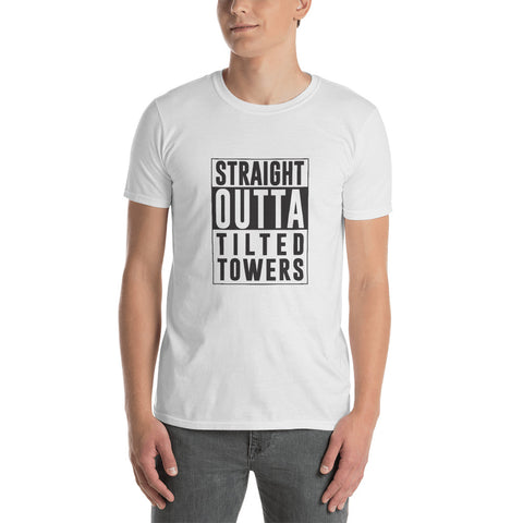 Fortnite Straight Outta Tilted Towers shirt