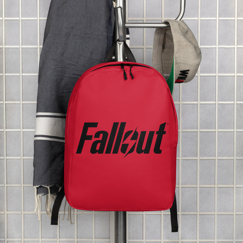 Fallout 76 Red Minimalist Backpack