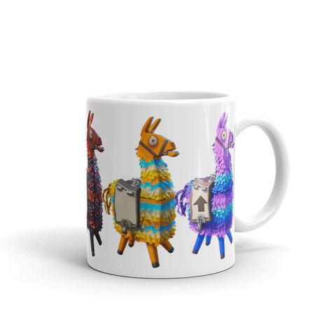 Fortnite Llamas Mug side