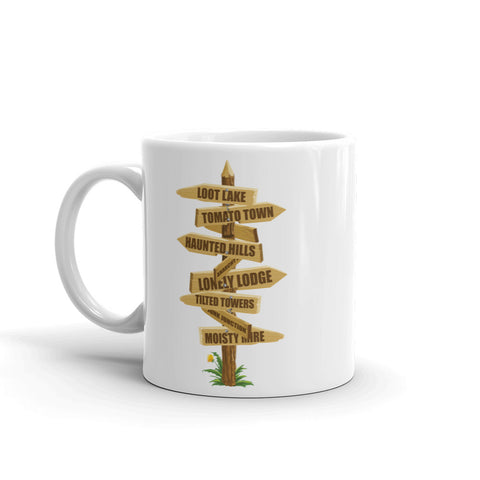 Favorite Fortnite Places Mug