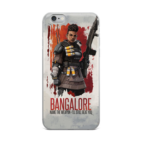 Bangalore Iphone Case - Name the weapon, I'll still beat You!