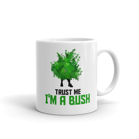 Fortnite Trust Me Im a Bush Mug