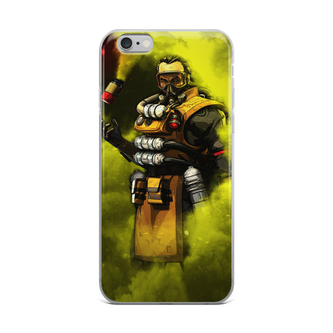 Apex Legends Caustic Gas iPhone Case