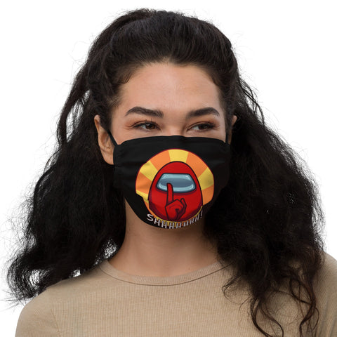 Among Us Face Mask with strings