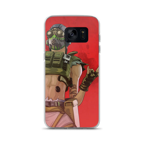 Apex Legends Octane Rocks Samsung Case