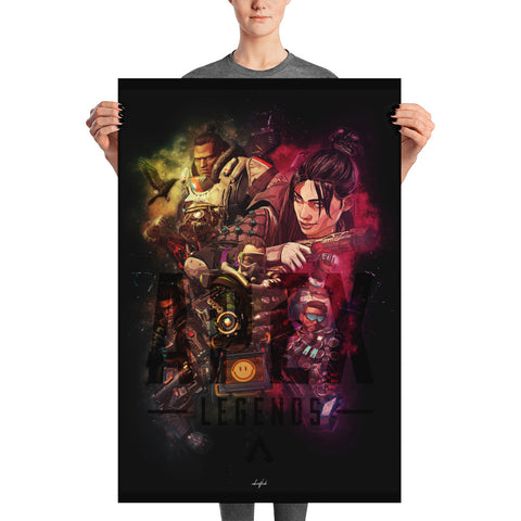 Apex Legends Dark Art Poster