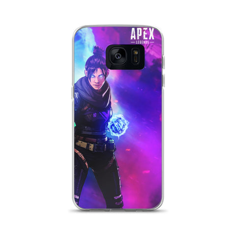 Apex Legends Wraith Violet Samsung Case