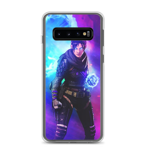 Apex Legends Wraith Violet Samsung Galaxy S20 Case & older