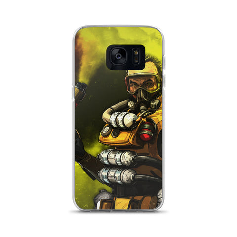 Apex Legends Caustic Gas Samsung Galaxy S20 Case & older