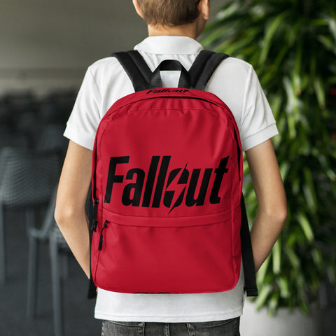 Fallout 76 Red Backpack