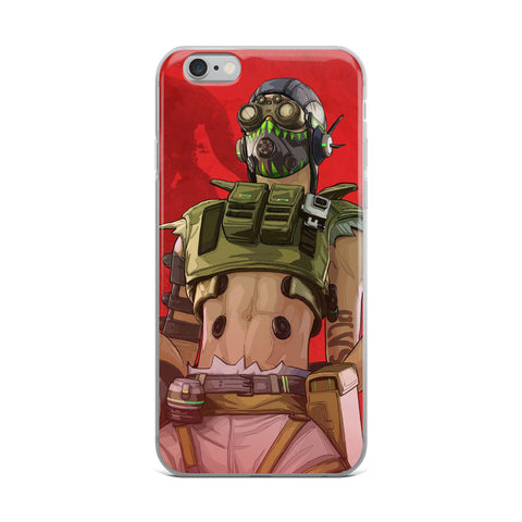 Apex Legends Octane Rocks iPhone Case