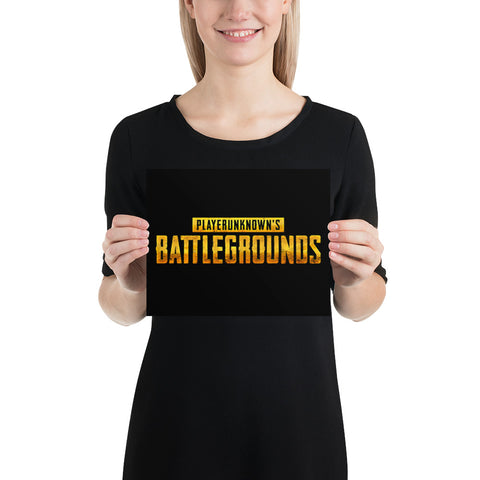 Playerunknowns Battlegrounds Poster