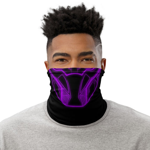 Purple Black Panther Face Mask | Neck Gaiter