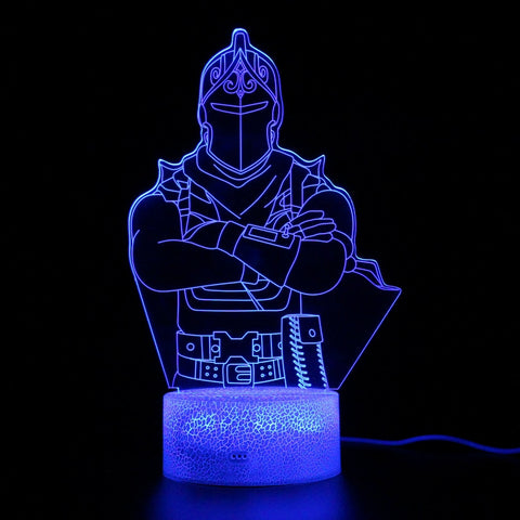 Fortnite Red Knight LED Lamp