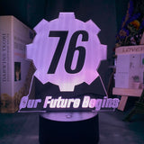 Fallout 76 LED Light with 16 switchable colors