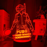 PlayerUnknown Battlegrounds LED Light with 16 switchable colors