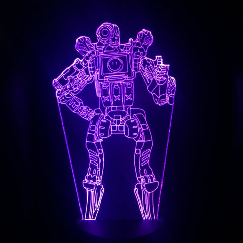Apex Legends Pathfinder Violet LED Lamp