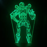 Apex Legends Pathfinder Green LED Lamp