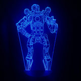 Apex Legends Pathfinder Blue LED Lamp