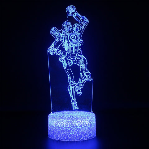 Apex Legends Pathfinder Waves Hi Blue LED Lamp