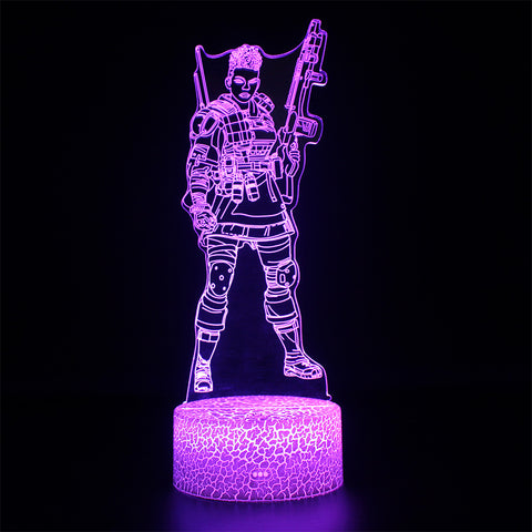 Apex Legends Bangalore LED Lamp