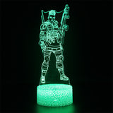 Apex Legends Bangalore Green LED Lamp