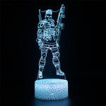 Apex Legends Bangalore Sky Blue LED Lamp