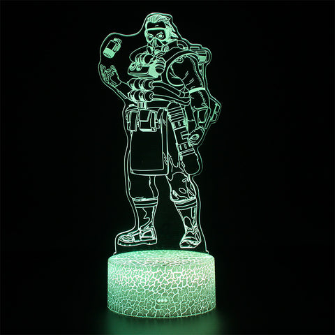 Apex Legends Caustic LED Lamp