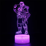 Apex Legends Caustic Purple LED Lamp